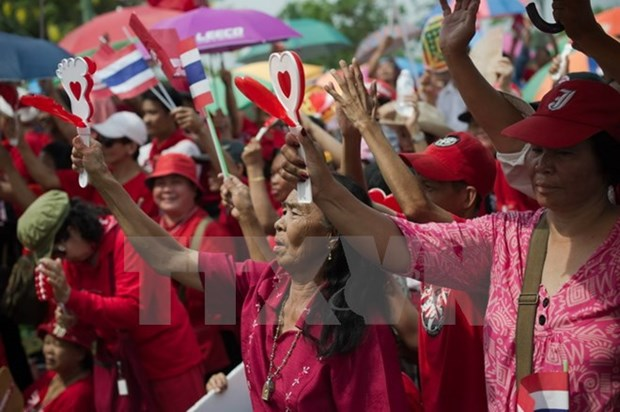 Thailand: Red Shirts opens centre to monitor referendum hinh anh 1
