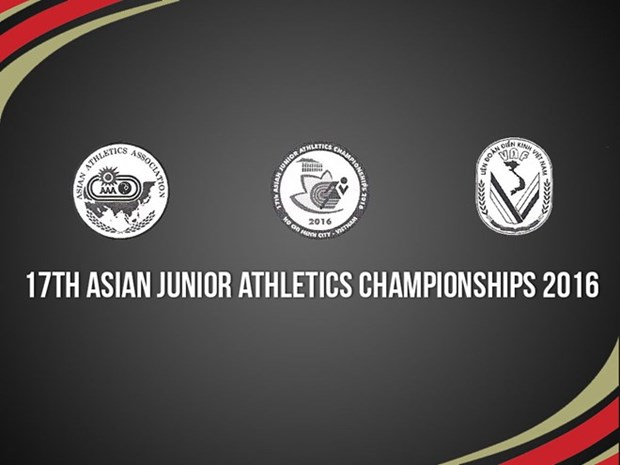 Japan top Asian Junior Athletics Championships in HCM City hinh anh 1