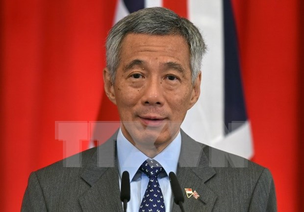 Singapore PM in Myanmar to foster bilateral ties hinh anh 1