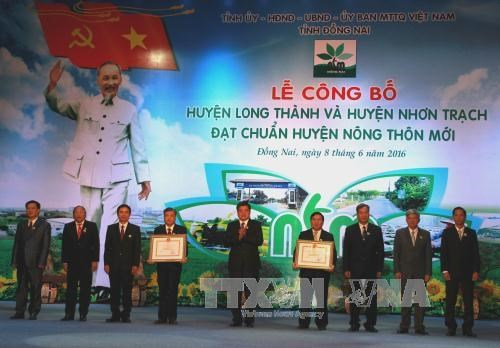 Dong Nai province leads in rural area building programme hinh anh 1