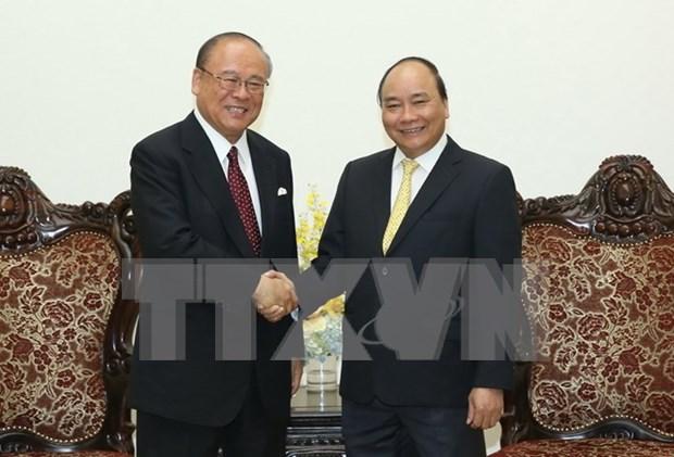PM praises ties with Japan, new Vietnam-Japan University hinh anh 1