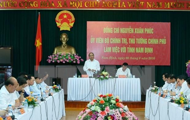 Nam Dinh must balance socio-economic growth, environment protection hinh anh 1