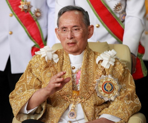 Thailand celebrates King's 70 years on throne hinh anh 1