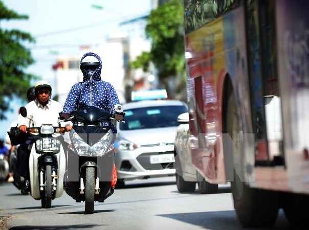 Hot spell to continue across northern, central regions hinh anh 1