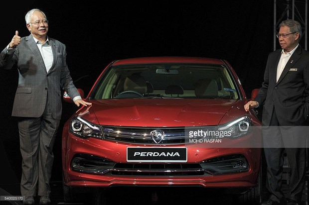 Malaysia launches 4th generation Proton car hinh anh 1