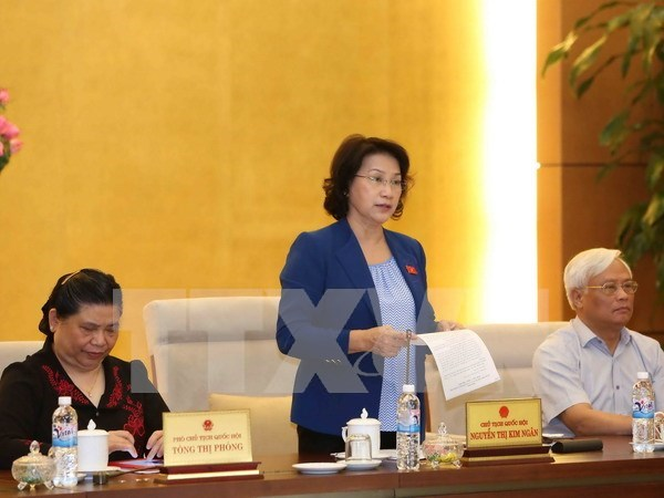 Deputies prepare for first session of new legislature hinh anh 1