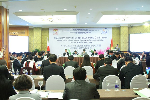 Books share Japan's policy, official training experiences hinh anh 1