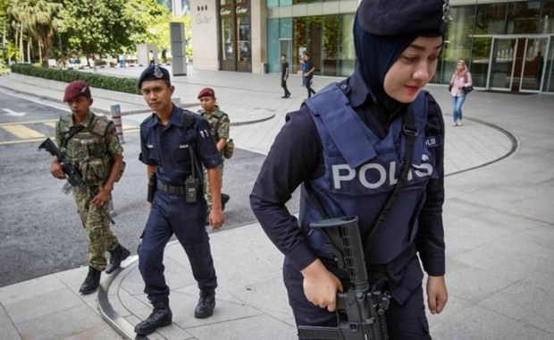 Three Malaysians charged for terrorist links hinh anh 1