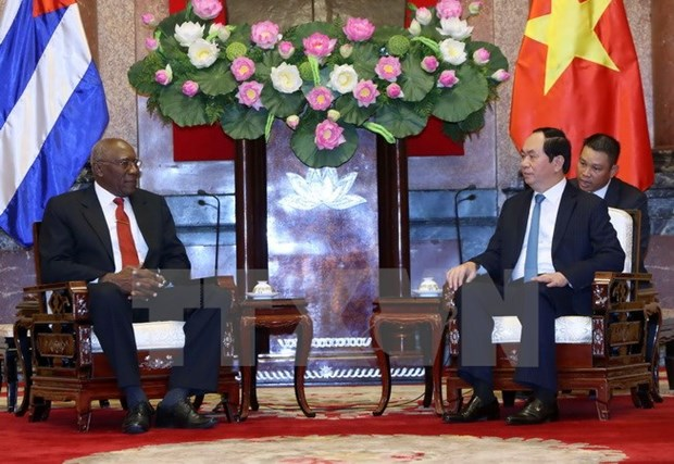 Vietnam, Cuba should expand economic cooperation, says President hinh anh 1