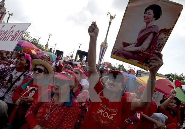Thailand's red-shirts meet UN high commissioner for human rights hinh anh 1