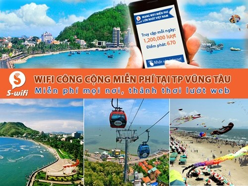 Vung Tau offers free public wifi hinh anh 1