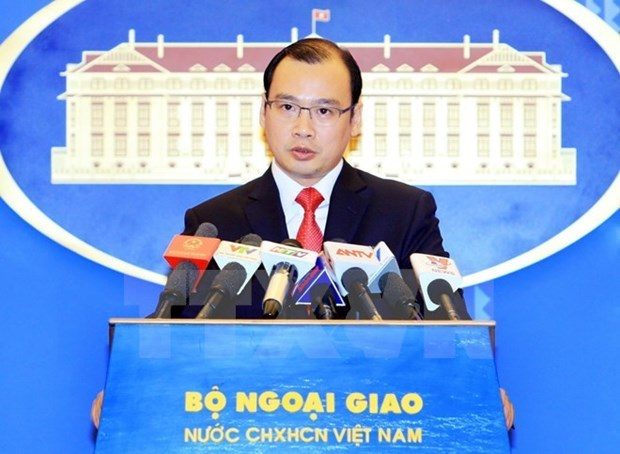 China's illegal activities in East Sea must be ended: FM spokesman hinh anh 1