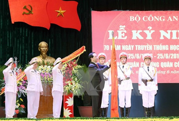 Security Academy asked to take on arduous tasks in new situation hinh anh 1