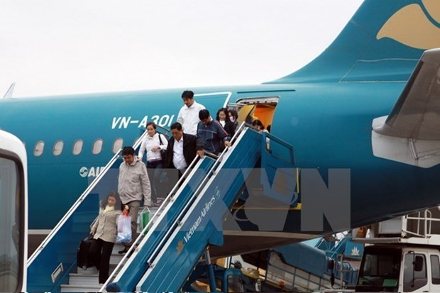 Vietnam Airlines operates flights at new terminal in Myanmar hinh anh 1