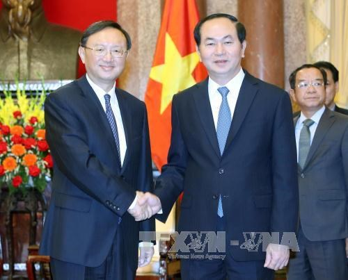 President welcomes Chinese State Councilor hinh anh 1