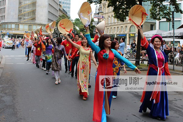 Vietnamese culture introduced at German festival hinh anh 1