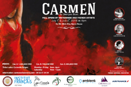 French Carmen opera hits stage in HCM City hinh anh 1