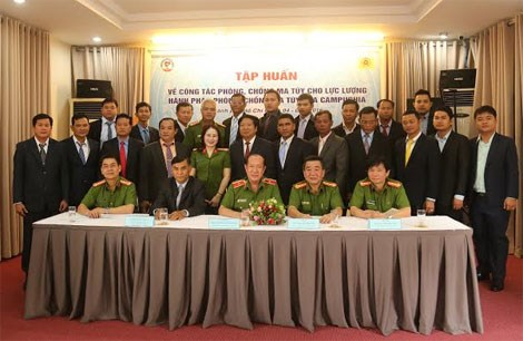 Vietnam assists Cambodia to raise anti-drug capability hinh anh 1