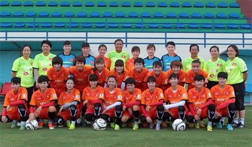 Vietnam's female football team to have friendlies in Czech Republic hinh anh 1