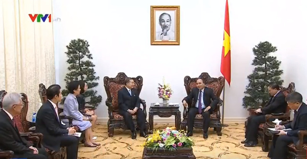 Prime Minister welcomes Thai TCC group chairman hinh anh 1