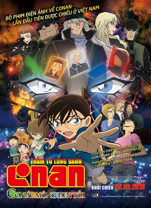 First Detective Conan film premieres in Vietnam in August hinh anh 1