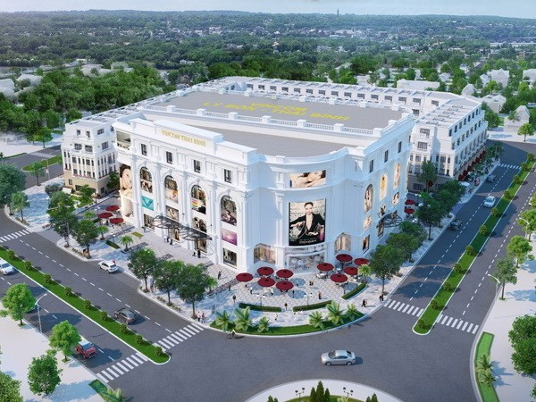First Vincom Plaza shopping mall breaks ground in Dong Thap hinh anh 1