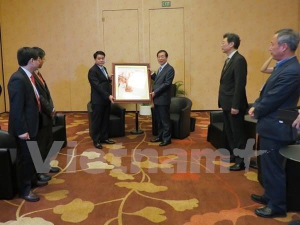 Hanoi, Seoul eye cooperation expansion hinh anh 1