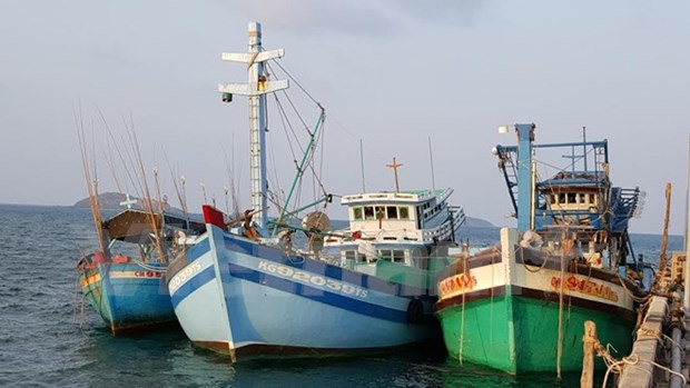 Thai navy open fire on Vietnam's fishing boats, injuring two hinh anh 1