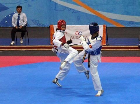 Hoa, Ngan win bronze medals at Sakha Games hinh anh 1