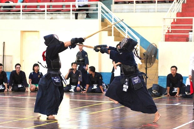 First gold for Vietnam in SE Asian Kendo Champs hinh anh 1