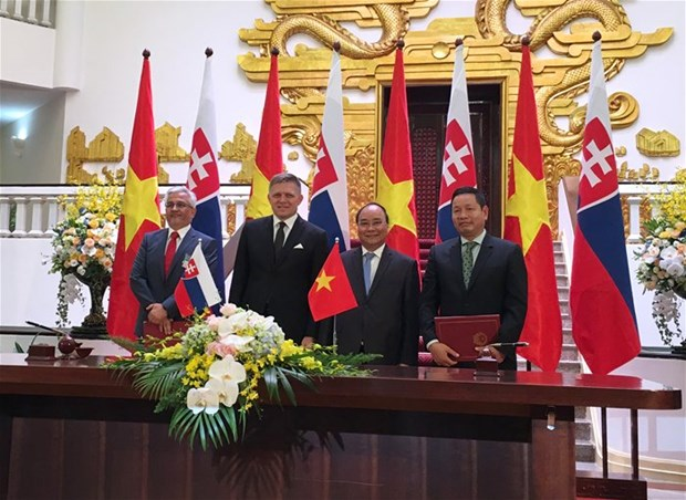 Vietnamese software giant signs deal with Slovak IT firm hinh anh 1
