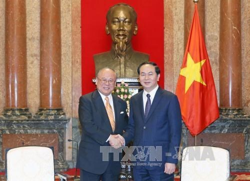 Japan-VN Friendship Parliamentary Alliance Special advisor on visit hinh anh 1