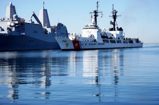 Philippines Navy receives third frigate from US hinh anh 1