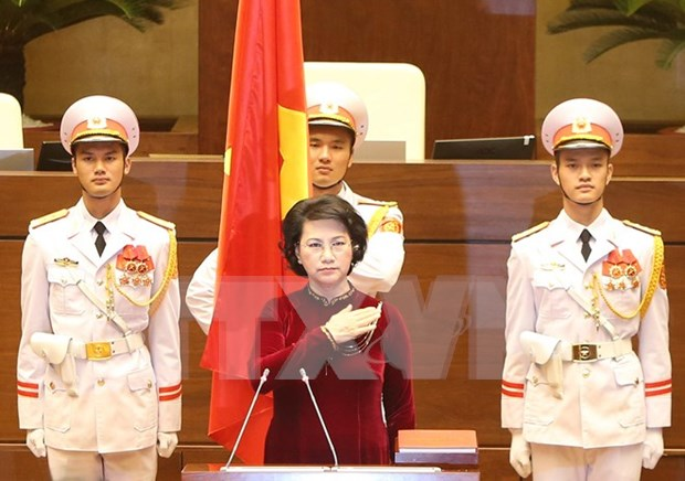 Deputies show confidence in new NA leader hinh anh 1