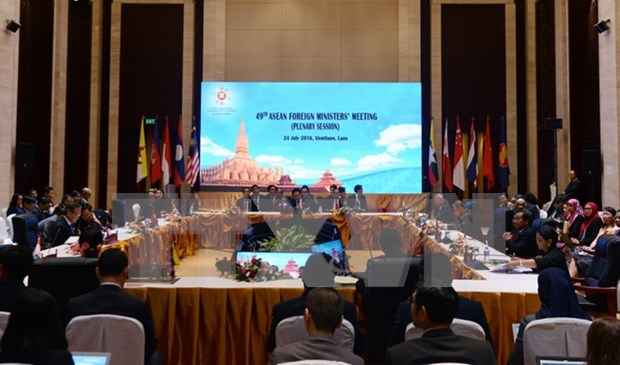 ASEAN-China joint statement on full, effective DOC implementation hinh anh 1