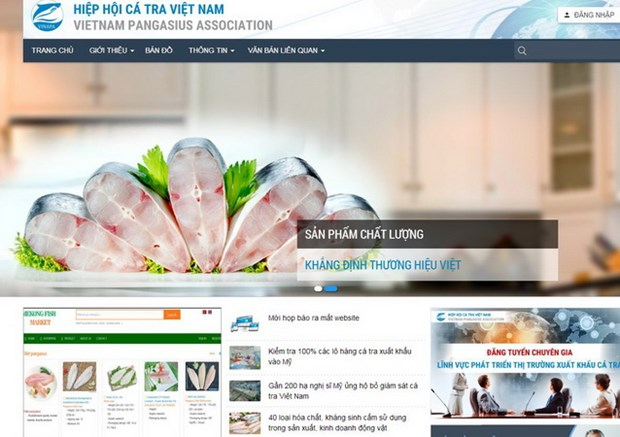 Tra fish trading website launched hinh anh 1