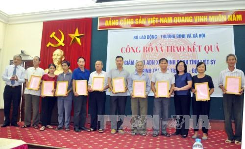 More war martyrs identified with DNA tests hinh anh 1