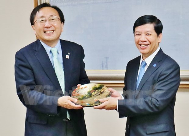 Japanese locality strengthens cooperation with Vietnam hinh anh 1