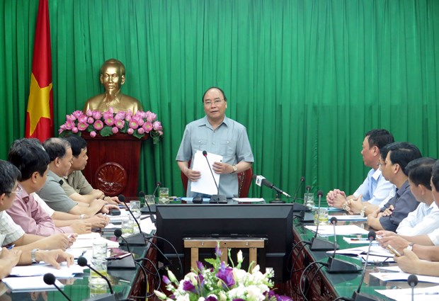 Nam Dinh urged to recover production after storm hinh anh 1