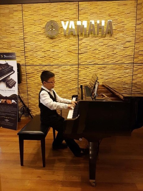 Amateur pianist takes first prize hinh anh 1