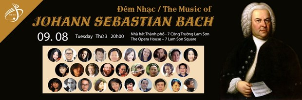 Music of JS Bach to enthrall HCM City audience hinh anh 1