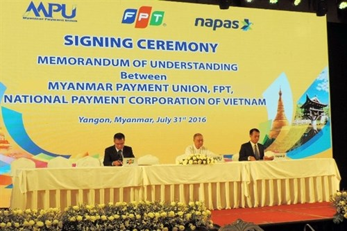 FPT to help build payment system for Myanmar hinh anh 1