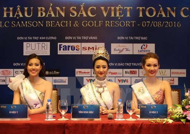 Miss Vietnam global heritage crown first winner hinh anh 1