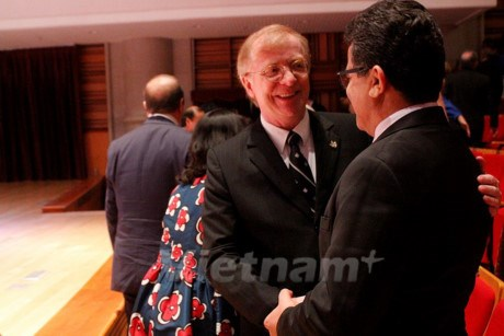 Canadian Ambassador honoured with friendship insignia hinh anh 1