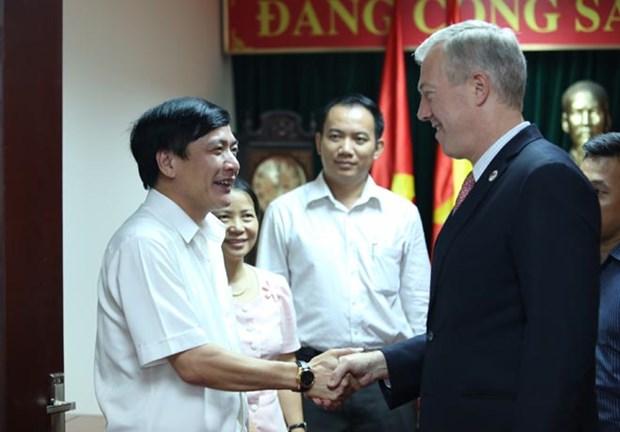 US works to ratify TPP: Ambassador hinh anh 1