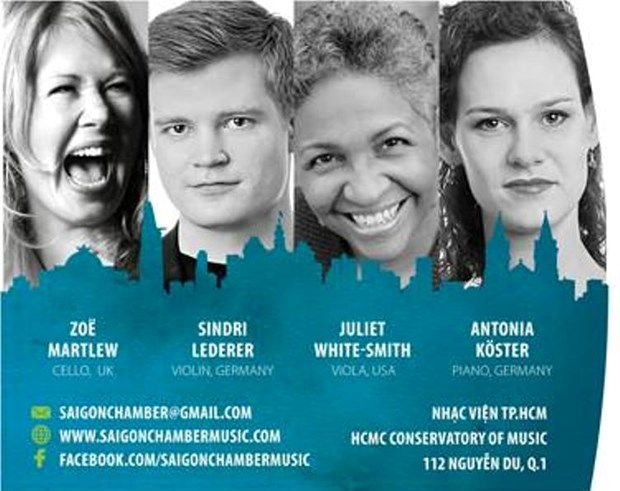 Saigon Chamber Music offers young artists int'l exposure hinh anh 1