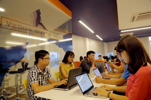 Tech startup sets new trend hinh anh 1