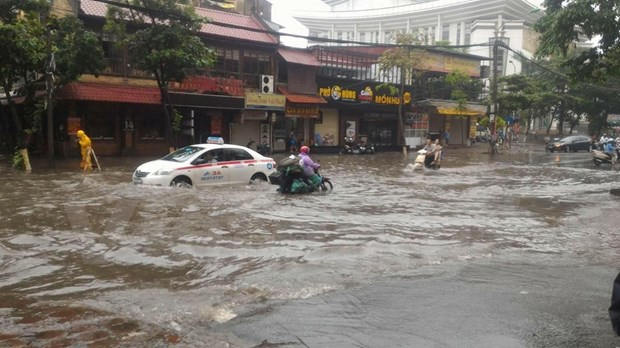 Downpour forecast for northern, north central regions hinh anh 1