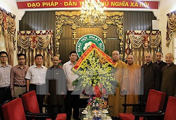 Vietnam Buddhist Sangha congratulated on Vu Lan festival hinh anh 1