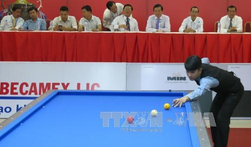 International billiards tournament opens in Binh Duong hinh anh 1